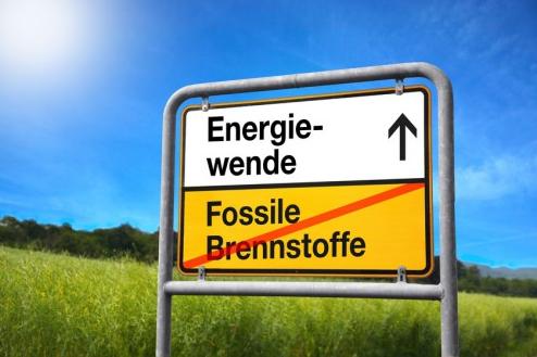 Energiewende-Schild