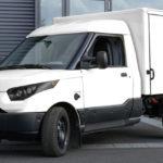 StreetScooter-Elektroauto- von der Post für den Handwerker