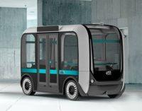 fahrerlose Minibusse aus dem 3D-Drucker