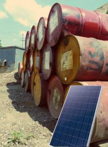 Solar-Fässer