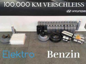 100.000km Verschleiß eAuto vs Verbrenner