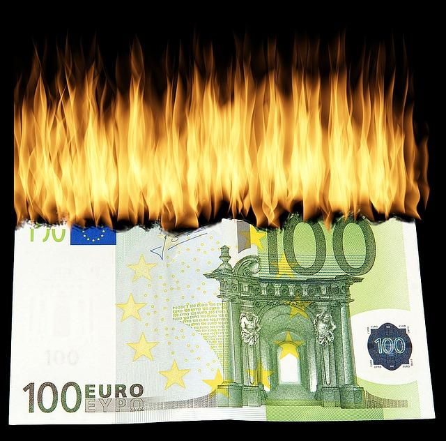 Geldvernichtung durch fossile Energien