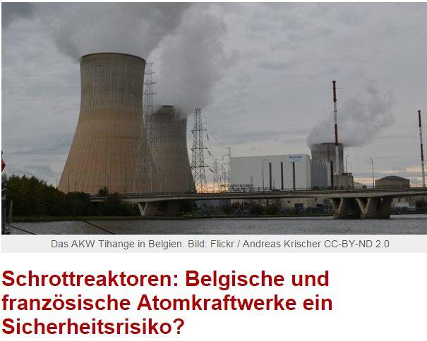 Wenn kein Wind weht kommt Atomstrom aus Frankreich