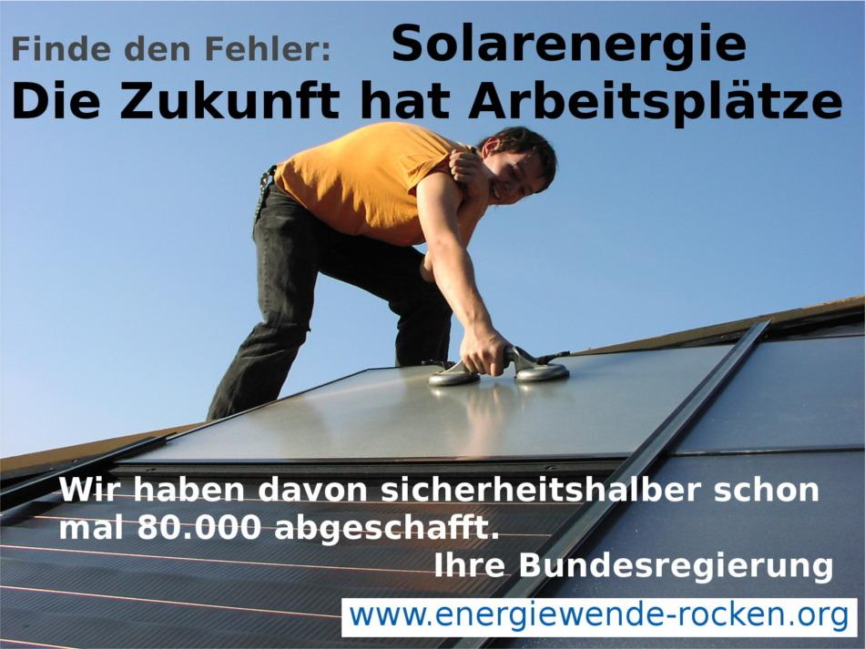 FridaysForFuture bitte übernehmen – solare Revolution für Deutschland und die Welt