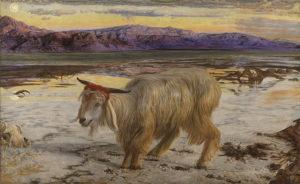 William_Holman_Hunt_-_The_Scapegoat- Sündenbock - Gemälde