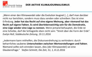 aktiver Klimajournalismus