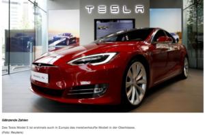 Tesla- Foto:Reuters-Handelsblatt