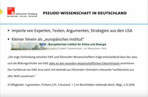 USA - Deutschland - Pseudowissenschaft