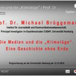 Veranstaltung am Institut für Journalistik und Kommunikationswissenschaft im Exzellenzcluster CliSAP, der Uni Hamburg