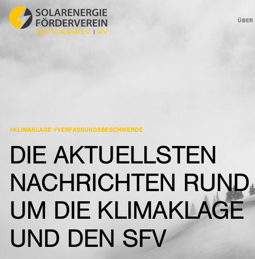 Verfassungsbeschwerde wegen unzureichender deutscher Klimapolitik