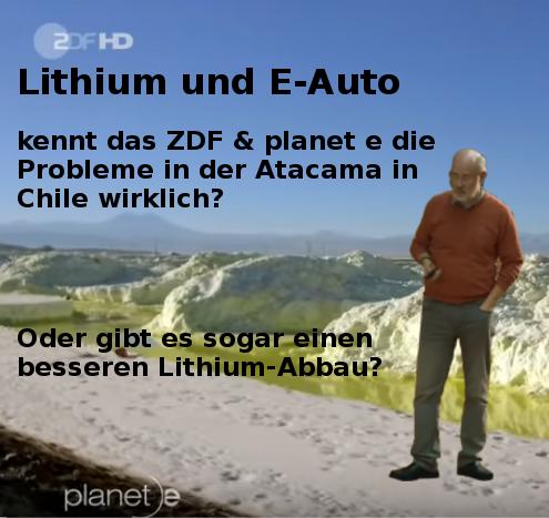 Prof. Lesch die Atacama-Wüste und das ZDF/Planet e – nachgehakt