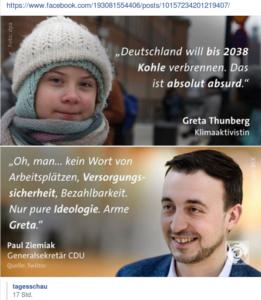 Greta Thunberg Tagesschau 9.2.19