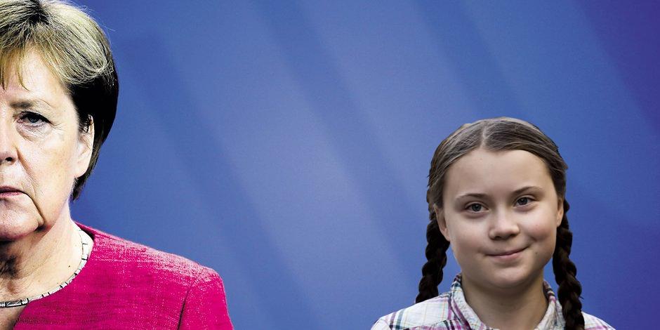Frau Merkel – Greta – und die Arbeitsplätze