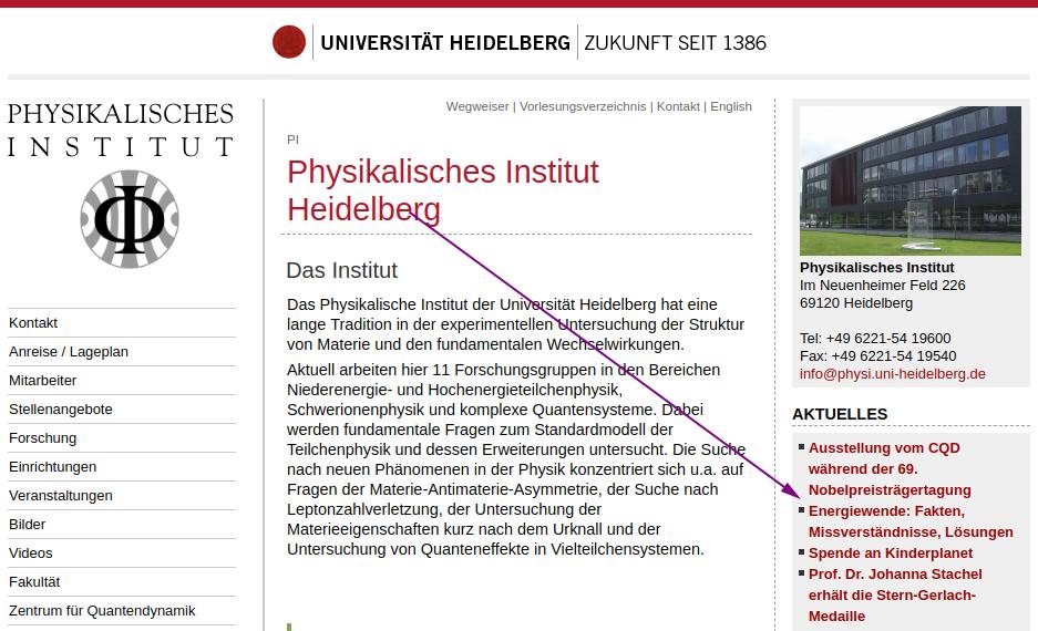 Physikprofessoren aus Heidelberg ist er eigene Ruf völlig egal – FakeNews ohne Ende
