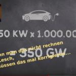 Prof. Lesch und das Laden von E-Autos