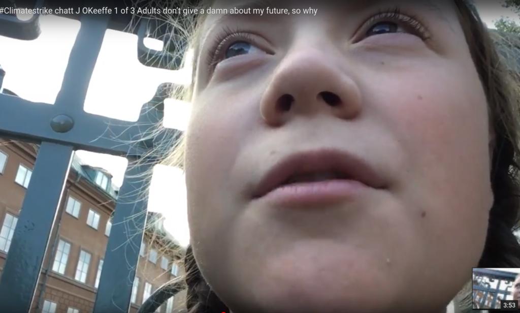 Erstes Video mit Greta Thunberg – interviewt von Janine O'Keeffe