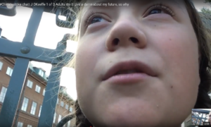 Erstes Video mit Greta Thunberg, interviewt von Janine O'Keeffe