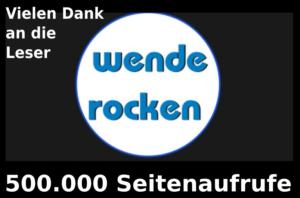 Energiewende-Rocken 500.000 Seitenaufrufe