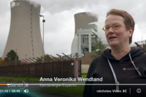 Atomlobbyistin macht im ZDF Werbung