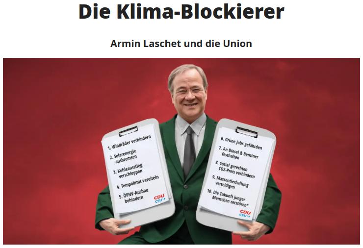 Strittiger Faktencheck von DPA – Armin Laschet