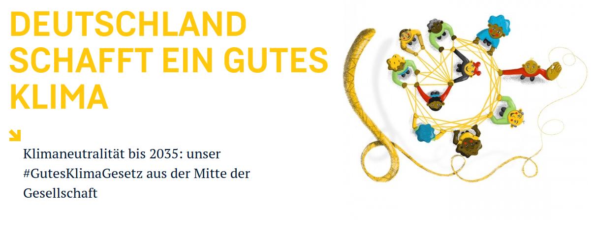 Screenshot GermanZero Klimagesetz