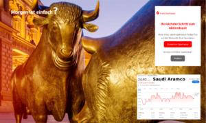 Was hat der Finanzmarkt mit Klima zu tun? Saudi Aramco